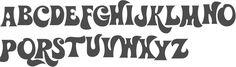 hippie font - Hledat Googlem