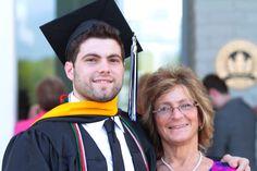 Tim graduates Stockton University May 2015!!!