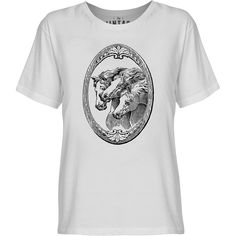 Mintage Horse Shield Youth Fine Jersey T-Shirt