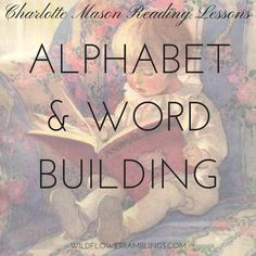 Alphabet Words, Abc Alphabet, Newborn Baby Tips, Word Building, Letter Activities, Charlotte Mason, Reading Lessons, Preschool Lessons, Letter Sounds