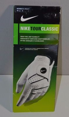 b4198968308 NEW NIKE TOUR CLASSIC Ladies RIGHT Golf Gloves S Small Women s Black White  Glove  Nike
