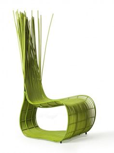 Color inspiration for wicker chairs.