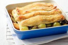 22 november - Pangasius filet + prei in de bonus = een heerlijk warm visschoteltje - Recept - Allerhande