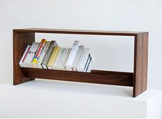 We're pleased to present our signature range of home library furniture. Made with care by American craftsmen exclusively for Book/Shop. Bookshelf Bench, Small Bookshelf, Wood Bookshelves, Library Furniture, Kids Furniture, Furniture Design, 2017 Decor, Small Woodworking Projects, Record Storage