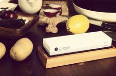 Corsoe Sharpening Stone - professional knife sharpener, Kitchen art, kitchen tools, kitchen ware, chef WWW.CORSOE.COM