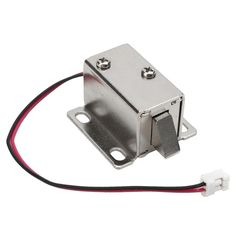 Safurance Electronic Lock Catch Door Gate 12V/0.34A Electric Release Assembly Solenoid