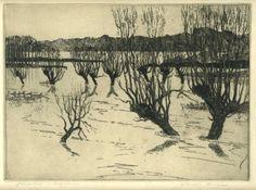 Joseph Frank Pimm - Flooded Meadows