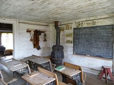 One-Room Schoolhouse, Nevada City, MT