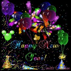 Animated New Year Wishes Happy New Year Gift, Happy New Year Quotes, Happy New Year 2016, Happy New Year Greetings, New Year Greeting Cards, New Year Gifts, Happy New Year Animation, Happy New Year Pictures, Holiday Gif