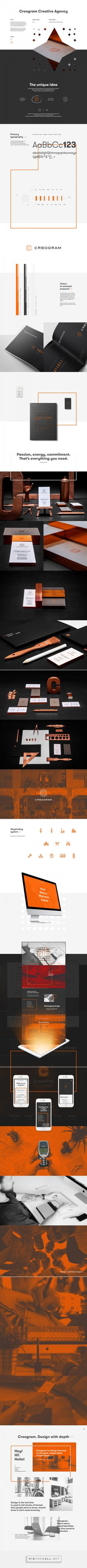 Creogram on Behance... - a grouped images picture - Pin Them All