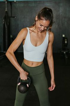 Be First Bra - Free People Movement - Workout Tank Top - Workout Crop Top - Open Back Tank Styles Courts, Workout Aesthetic, Fitness Aesthetic, Aesthetic Food, Workout Tank Tops, Fitness Inspiration, Body Inspiration, Workout Inspiration, Active Wear
