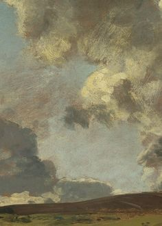 John Constable, Weymouth Bay: Bowleaze Cove and Jordon Hill (detail),1816-7 (x)
