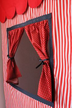 Doorway Puppet Theatre Curtains PURCHASE  PATTERN