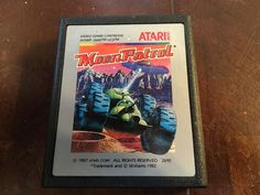 Moon Patrol (Atari 2600, 1983) Cartridge Only