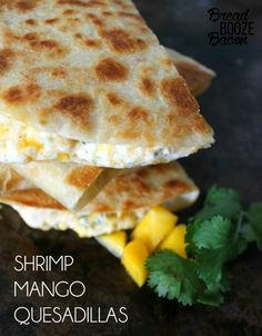Shrimp Mango Quesadi
