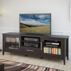 Hokku Designs Wellington Traditional TV Stand & Reviews | Wayfair
