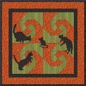 The Stalker Quilt Pattern - via @Craftsy