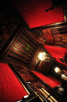 Victorian Red Walls