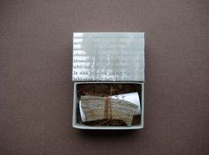 Letters to you  matchbox art by paperiaarre on Etsy, $ 26.00