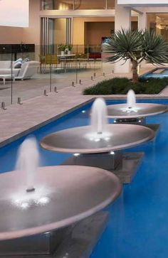Luxury water features