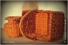 Поделка изделие Аппликация из скрученных жгутиков Вязание Плетение Плетение вязание Бутылки стеклянные Пряжа Трубочки бумажные фото 4