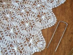 Cyncontemporary: Hairpin lace