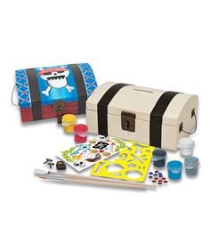 Love this Treasure Chest Painting Kit by Works of Ahhh... on #zulily! #zulilyfinds