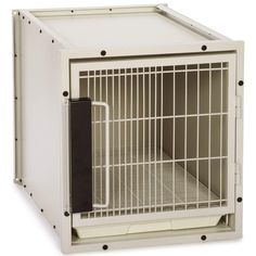 ProSelect Steel Modular Kennel Pet Cage, Small, Sandstone -- Check this awesome product by going to the link at the image. (This is an affiliate link) Metal Dog Cage, Double Door Design, Pet Kennels, Cat Cages, Dog Store, Cat Toys, Pet Supplies, Locker Storage, Steel