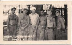 Sea Bees at Work 1941 Navy WWII  104th N.C.B.