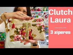 Como Fazer a Clutch Laura com 3 zíperes - How To Make 3 Zippers Cluth - . Sewing Projects For Beginners, Sewing Tutorials, Diy Clutch, Hand Lettering Alphabet, Backpack Pattern, Bag Patterns To Sew, Simple Bags, Craft Work, Diy And Crafts