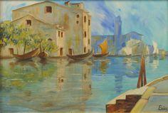 Venezia - olio su tela - 2000 (40x60)