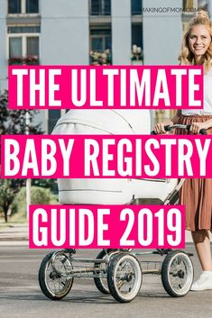 Baby Registry Must Haves - The Ultimate Guide to Baby Gear Essentials Baby Registry Essentials, Baby Registry Must Haves, Baby Swings, First Time Moms, First Baby, Carters Baby, Unique Baby, Baby Products, Baby Gear