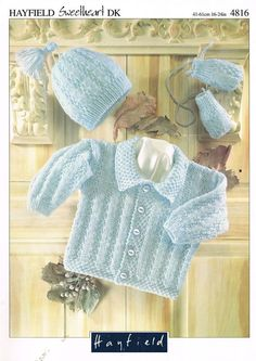 cable cardigan baby knitting pattern PDF instant by Ellisadine
