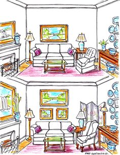 It's Easy to Decorate a Room with a Tall / High Ceiling