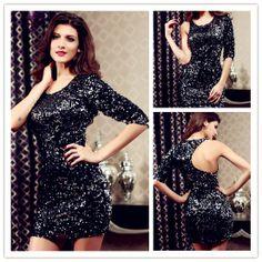 Elegant Black Polyester Sheath Mini Sexy Style Day To Night Dress