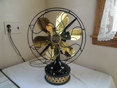 Antique C. 1919 Western Electric 6 blade fan sold for $600 on eBay