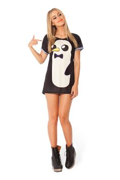 Gunter BFT #blackmilk #penguin #love