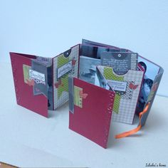mini album sketch and the tutorial: http://isbahashome.blogspot.fr/2014/02/a-fast-and-easy-mini-album-tutorial.html
