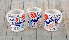 Classic Soul - Coffee Mug / 11 oz. White Glossy Ceramic – The Color Pop Shop