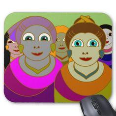 Many Women Mousepad