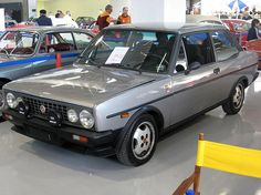 Fiat 131 Volumetrico Abarth.