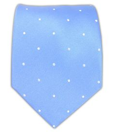 Satin Dot - Light Cornflower/White | Ties, Bow Ties, and Pocket Squares | The Tie Bar