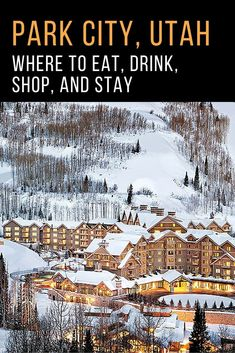 Virtuoso - Where to eat, drink, shop, and stay in Park City, Utah. Zermatt, Thanksgiving Getaways, Diy Thanksgiving, Salt Lake City Utah, Salt Lake City Skiing, Park City Utah Skiing, Ski Park, Places To Travel, Places To Visit