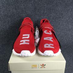 best service 0f8c4 d7c4c Adidas pharrell nmd human race bb0616 scarlet brand new