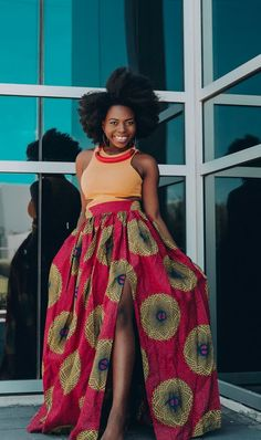 Items similar to Ankara Skirt African Clothing African skirt African Print Maxi Skirt African Fashion Women Clothing African Fabric Short Dress Summer Dress on Etsy African Fashion Skirts, African American Fashion, African Fashion Designers, African Print Dresses, African Print Fashion, Africa Fashion, African Dress, Ankara Fashion, African Style