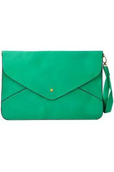 Romwe Retro Green Handbag #Romwe