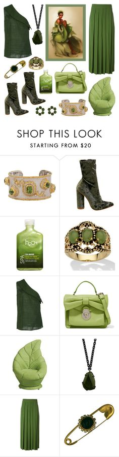 """""""Modern Princess Tiana"""" by deepwinter ❤ liked on Polyvore featuring Victor Velyan, H2O+, Palm Beach Jewelry, Hellessy, RED Valentino, Disney, Burberry, I'm Isola Marras, Les Néréides and modern"""