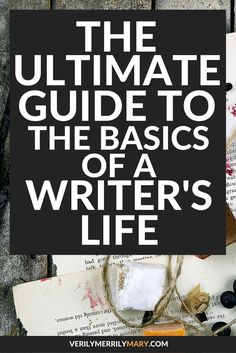 This post is your one stop shop to get your writing life in full swing. Click through to learn how to efficiently integrate writing into your everyday life.