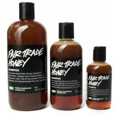 Fair Trade Honey Shampoo from LUSH