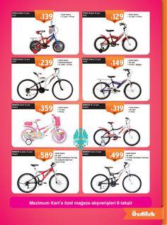 Hem kendiniz hem de çocuklarınız en eğlenceli spor; bisiklet! Özdilek'te bisiklet sezonu açıldı!